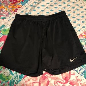 Black Nike Women's Soccer Shorts